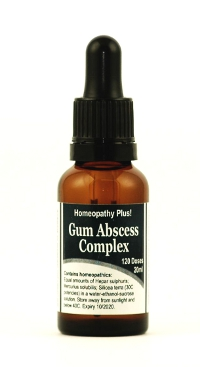 Gum Abscess Complex Instructions 5