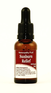 Free Sunburn Relief Complex with orders over $30 15