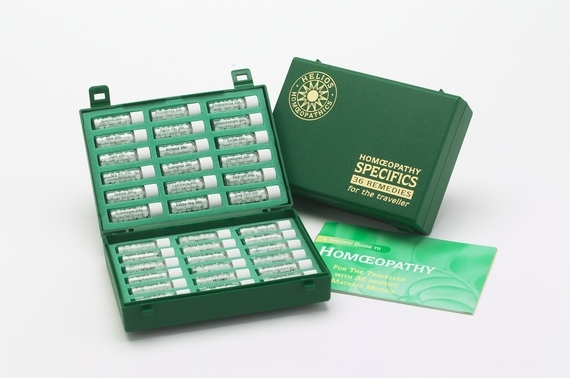 Traveller's Homeopathy Kit 12