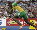 Homeopathy for the world's fastest man 1