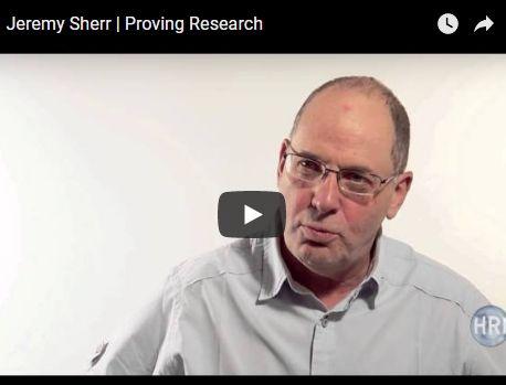 Video: Jeremy Sherr | Proving Research 4
