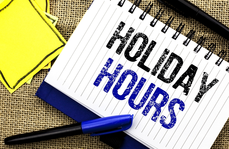 Christmas and New Year Business Hours 1