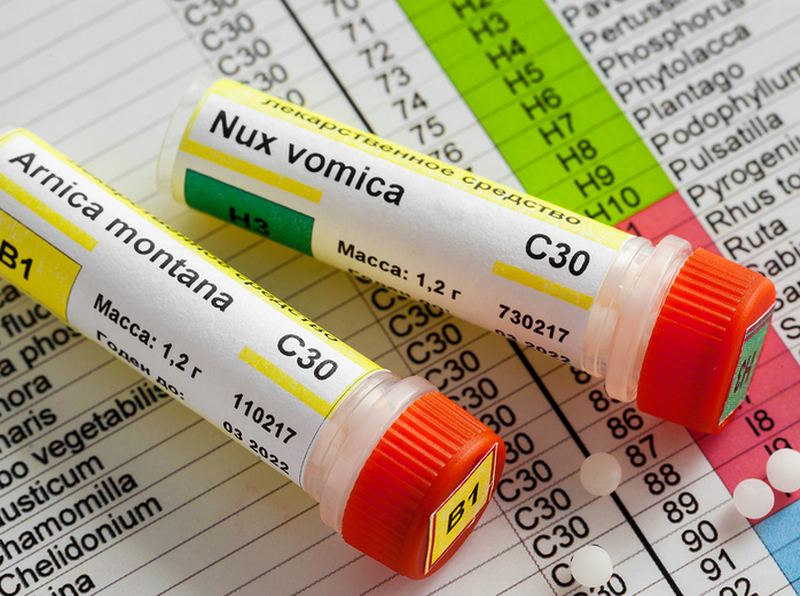 Homeopathic Nux Vomica 4