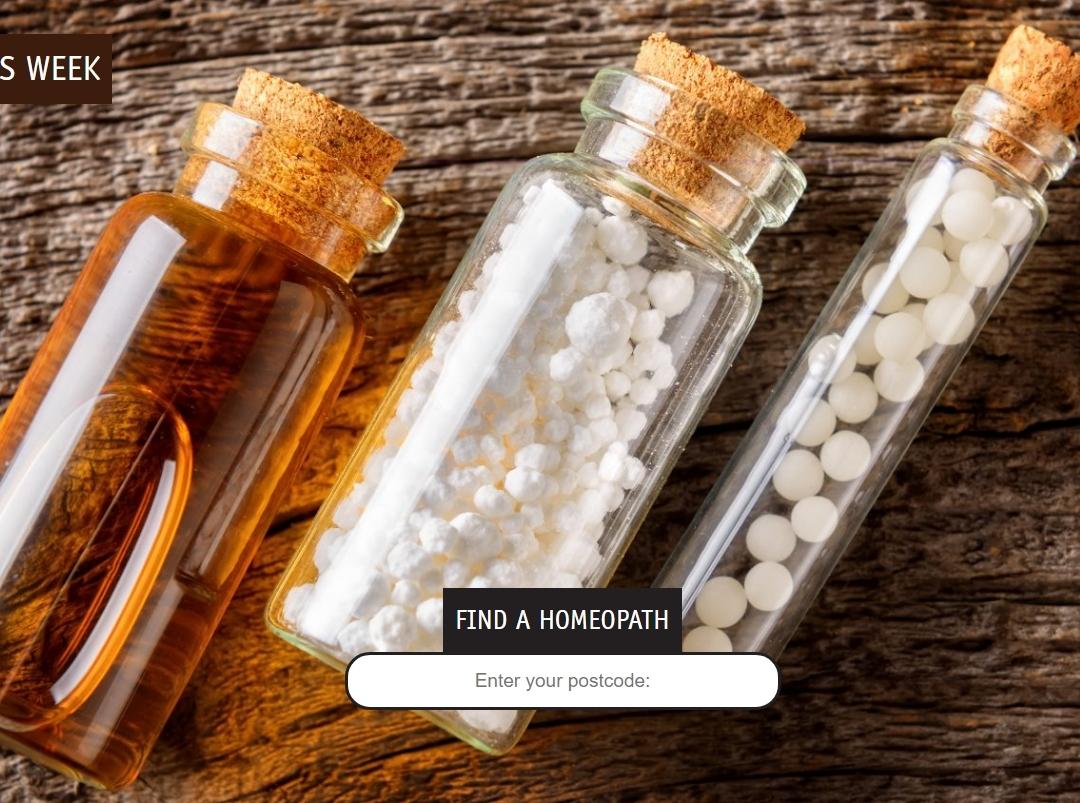 Homeopathy Awareness Week 1