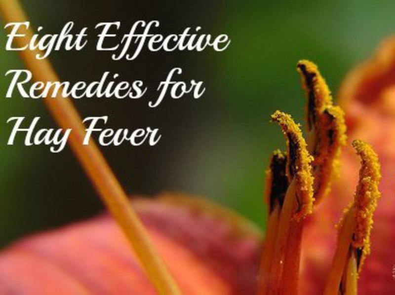 Eight Remedies for Hay Fever 3