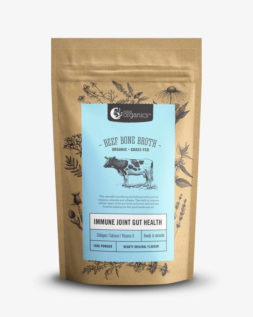 Beef Bone Broth Powder (Grass-Fed) - Ready in Seconds
