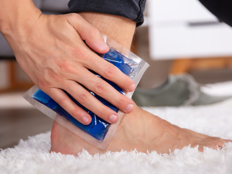 Homeopathy for Swollen Ankle 1
