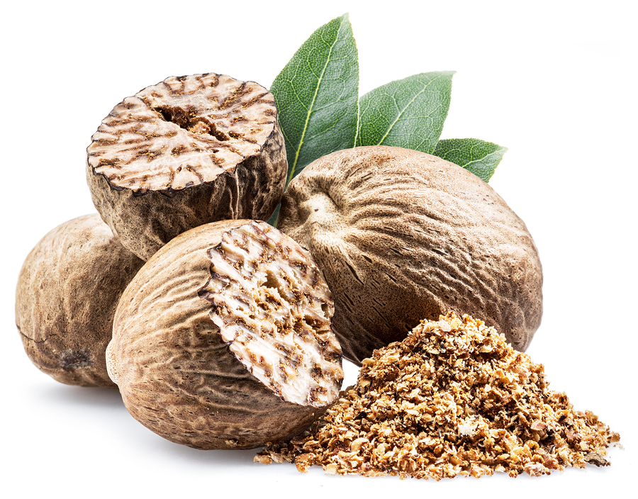 Nutmeg as the homeopathic remedy, Nux Moschata (Nux-m.)
