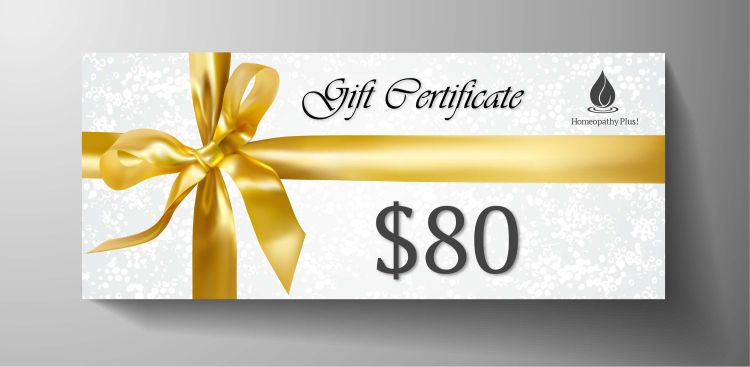 $80 Gift Certificate 2