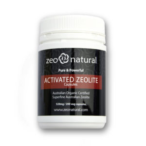Activated Zeolite (Clinoptilolite) Capsules 1