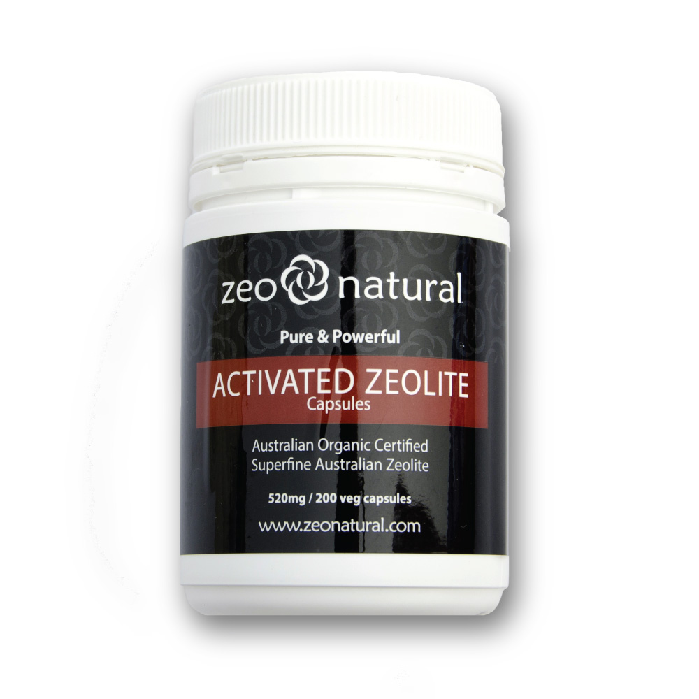 Activated Zeolite (Clinoptilolite) Capsules 2