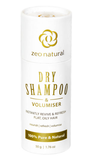 Natural Dry Shampoo & Volumiser 1
