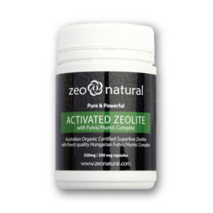 Activated Zeolite (Clinoptilolite) + Fulvic/Humic Acid Capsules 1