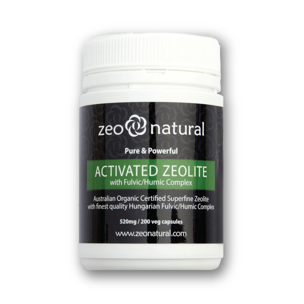 Activated Zeolite (Clinoptilolite) + Fulvic/Humic Acid Capsules 2