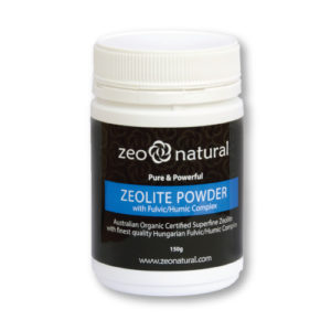 Zeolite Powder (Clinoptilolite) with Fulvic/Humic Complex 1